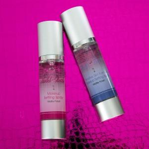 Model in a Bottle Makeup Settings Sprays.