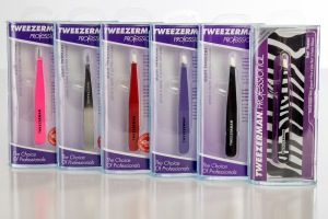 Tweezerman Professional Stainless Steel Tweezers.