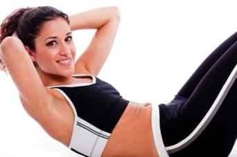 Woman doing Abdomen exercise